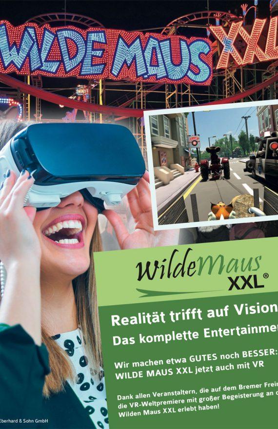 Die Wilde Maus jetzt auch mit Virtual Reality