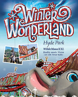 Winter Wonderland im Hyde Park London