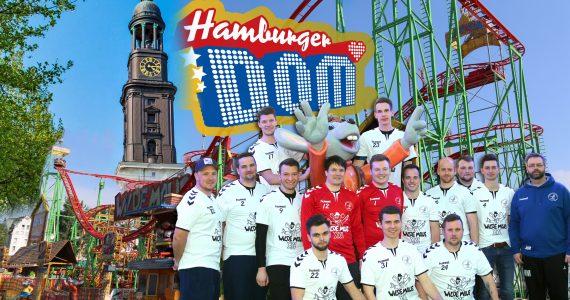 Die Wilden Mäuse vom Höllenberg zu Besuch auf dem Hamburger Dom