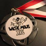 Wilde Maus XXL Plakete für jeden Teilnehmer